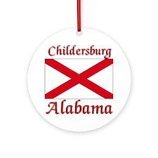 Childersburg Alabama Ornament (Round)