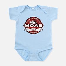 Moab Red Infant Bodysuit