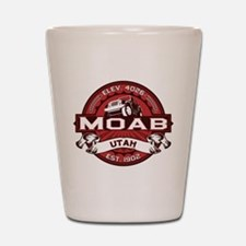 Moab Red Shot Glass