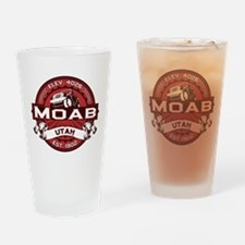 Moab Red Drinking Glass
