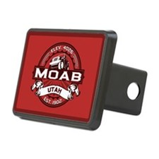 Moab Red Hitch Cover