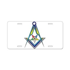 The S&C with the OES Star Aluminum License Plate