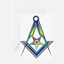 The S&C with the OES Star Greeting Cards (Pk of 20
