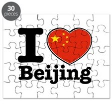 I Love Beijing Puzzle