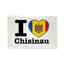 I Love Chisinau Rectangle Magnet