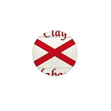 Clay Alabama Mini Button (100 pack)