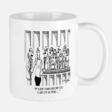 Law Cartoon 1913 Mug