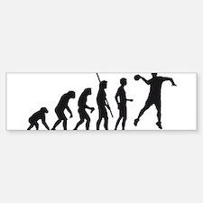 Evolution Handball 06-2011 A 1c.png Bumper Bumper Sticker