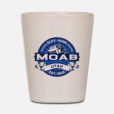 Moab Cobalt Shot Glass