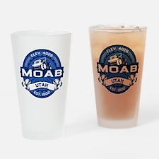 Moab Cobalt Drinking Glass