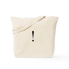 Exclaim Tote Bag