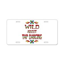 Wild About Tap Aluminum License Plate
