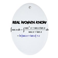 Real Women-2 Ornament (Oval)