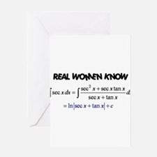 Real Women-2 Greeting Card