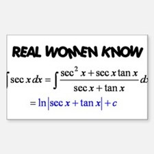 Real Women-2 Decal