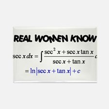 Real Women-2 Rectangle Magnet (10 pack)