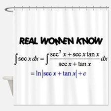 Real Women-2 Shower Curtain