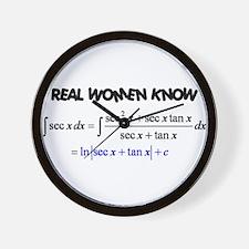 Real Women-2 Wall Clock