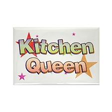 Kitchen Queen Rectangle Magnet