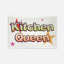 Kitchen Queen Rectangle Magnet