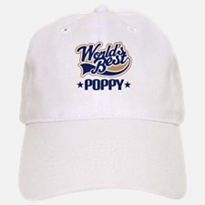 Poppy (Worlds Best) Baseball Baseball Cap
