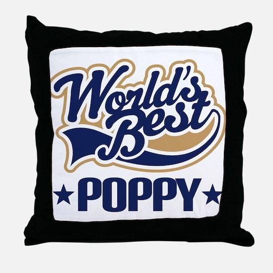 Poppy (Worlds Best) Throw Pillow