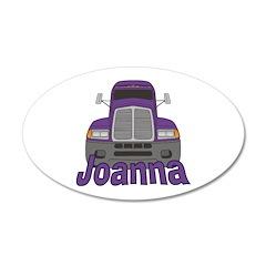 Trucker Joanna Wall Decal
