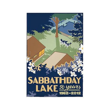 Sabbathday Lake Rectangle Magnet