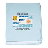 Argentina uruguay Blanket
