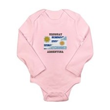 Unique Uruguayan Long Sleeve Infant Bodysuit