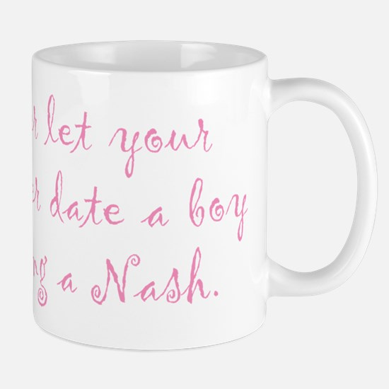 Never Let Your Daughter Mug