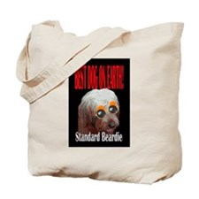 Bearded Collie dogs Tote Bag