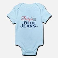 Blue Jeans Baby Infant Bodysuit