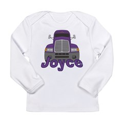 Trucker Joyce Long Sleeve Infant T-Shirt