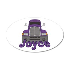 Trucker Joyce Wall Decal