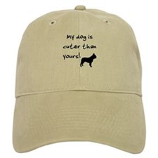 Cuter than yours (Frenchie) Baseball Cap