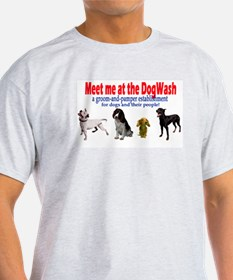 For the smart...dog Ash Grey T-Shirt