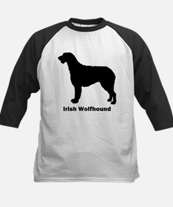 Irish Wolfhound Kids Baseball Jersey