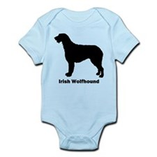 Irish Wolfhound Infant Bodysuit