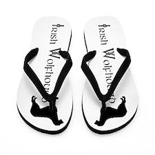 Irish Wolfhound Flip Flops