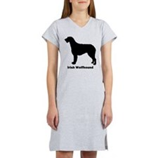 Irish Wolfhound Women's Nightshirt