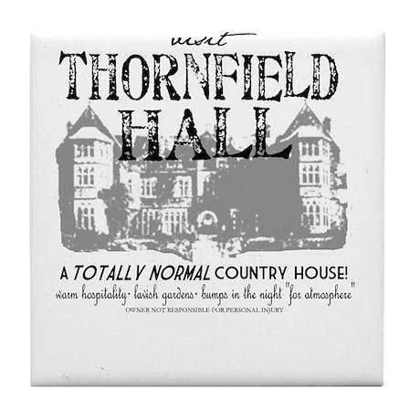 Visit Thornfield Hall Tile Coaster