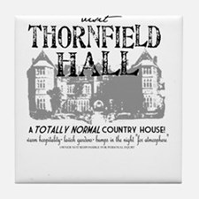 Visit Thornfield Hall Tile Coaster