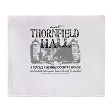 Visit Thornfield Hall Throw Blanket