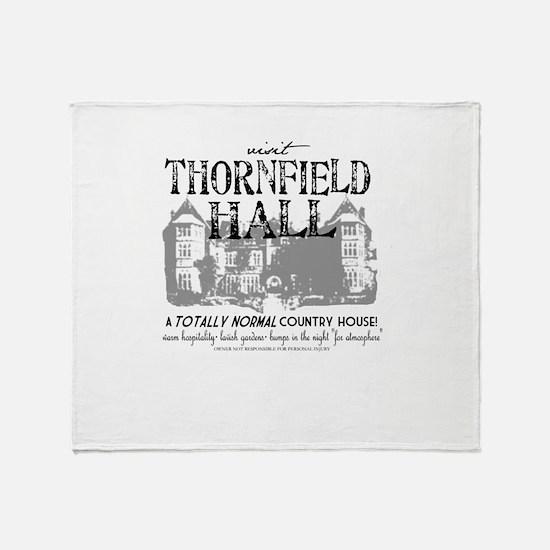 Visit Thornfield Hall Throw Blanket