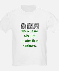 THERE IS NO KINDNESS... (GREEN) T-Shirt