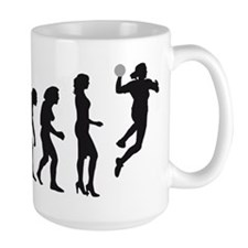 Evolution Handball Spielerin D 2c.png Mug