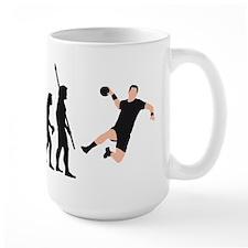 Evolution Handballer A 2c.png Mug