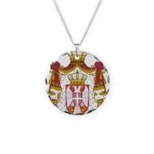 Serbia Coat Of Arms Necklace