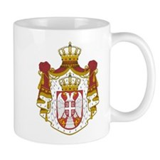 Serbia Coat Of Arms Small Mug